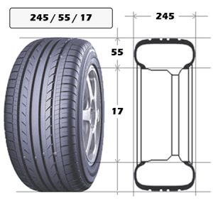 Шины 245/55 R17